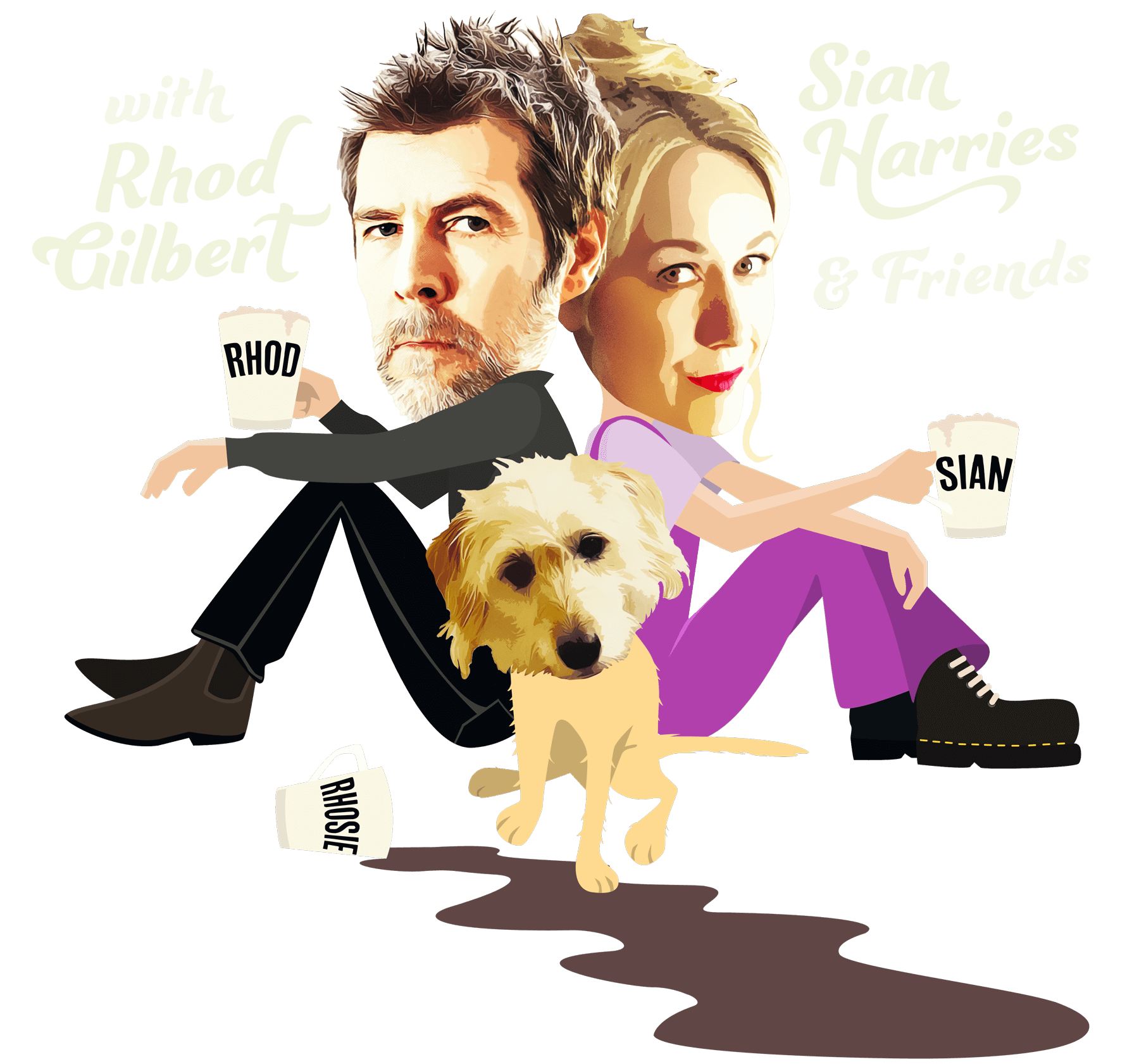 The Froth Podcast with Rhod Gilbert, Sian Harries and friends